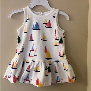Hanna Anderson dress size 12-18 months ( size 75)